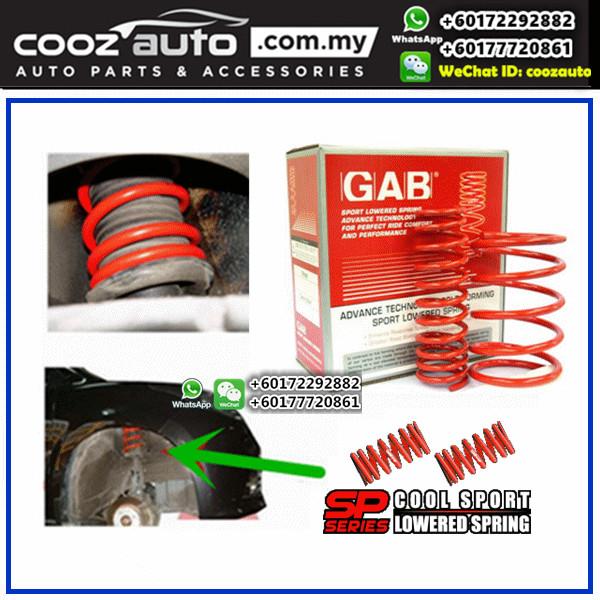 Nissan Sentra N16 2000-2006 GAB SP Series Cool Lowered Sport Spring