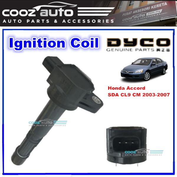 (Dyco) Honda Accord 2.0 2.4 SDA CL9 CM 2002 - 2007 IGNITION COIL PLUG COIL TUBE