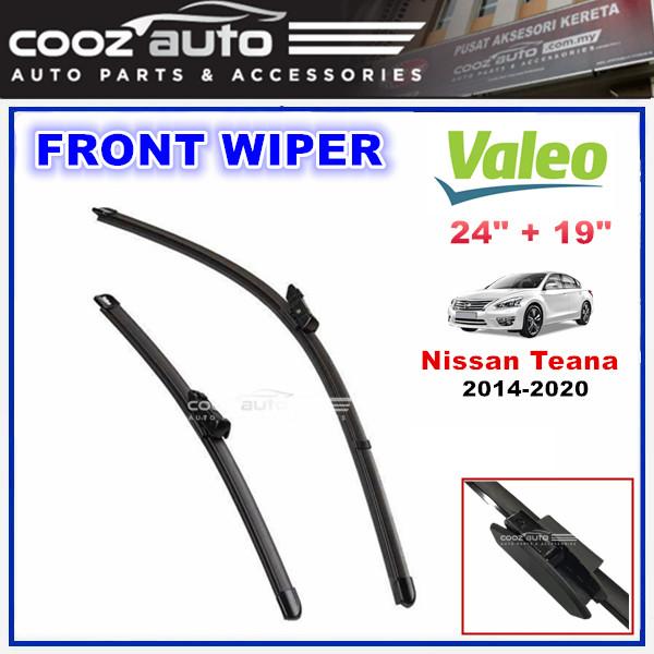 """Nissan Teana 2014 - 2020 Valeo Silencio X.TRM Windscreen Flat Wiper Blade (24""""/19"""")"""