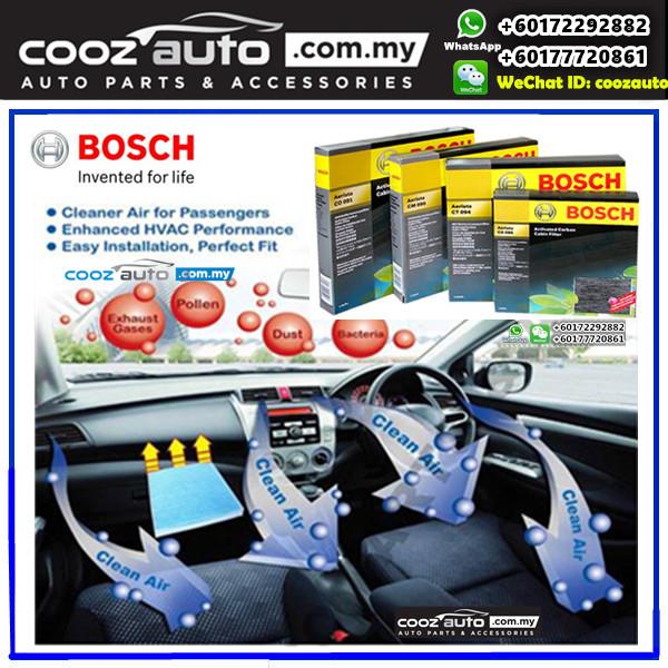 Perodua Alza Bosch Activated Carbon Cabin Air Cond Aircon Replacement Filter