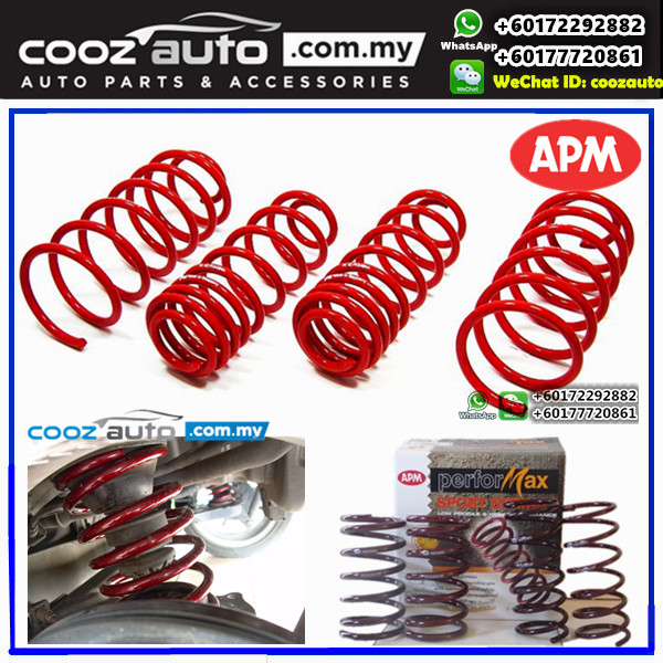 Toyota Wish 2008-2013 APM Performax Lowered Sport Coil Spring Suspension