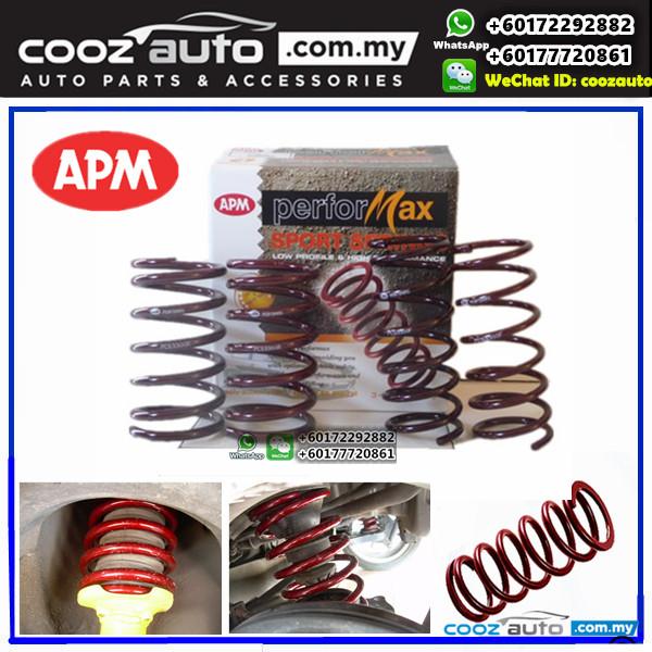 Proton Saga Iswara 1.3 1.5 APM Performax Lowered Sport Coil Spring Suspension