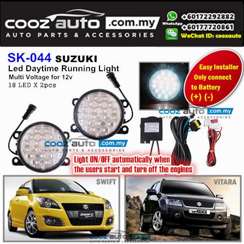 Suzuki Vitara 18 LED Daytime Running Light DRL Fog Lamp
