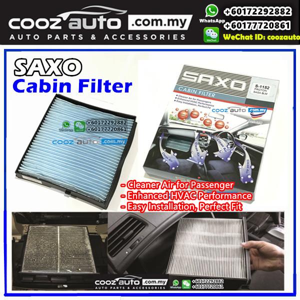 Proton Persona Sanden Nylon Saxo Cabin Air Cond Aircon Replacement Filter