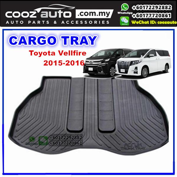 Toyota Vellfire 2015-2017 Luggage / Boot / Cargo Tray