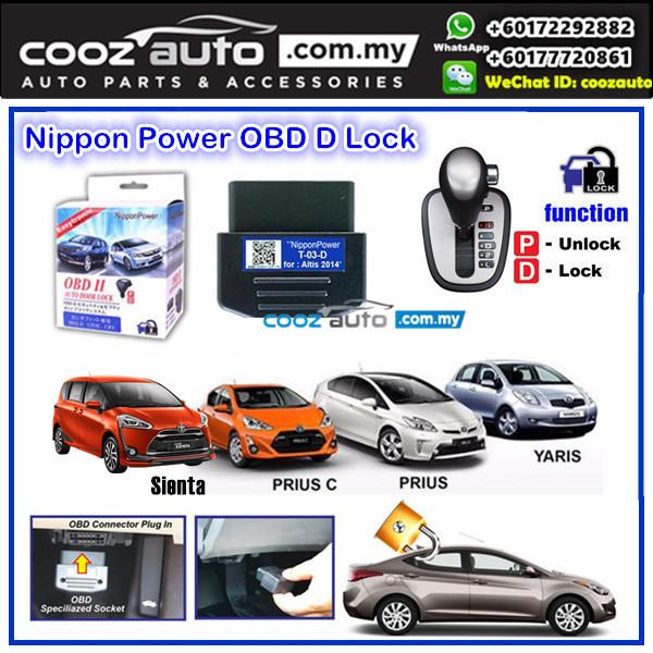 Toyota Pruis C Nippon Power OBD D Lock Auto Door Lock