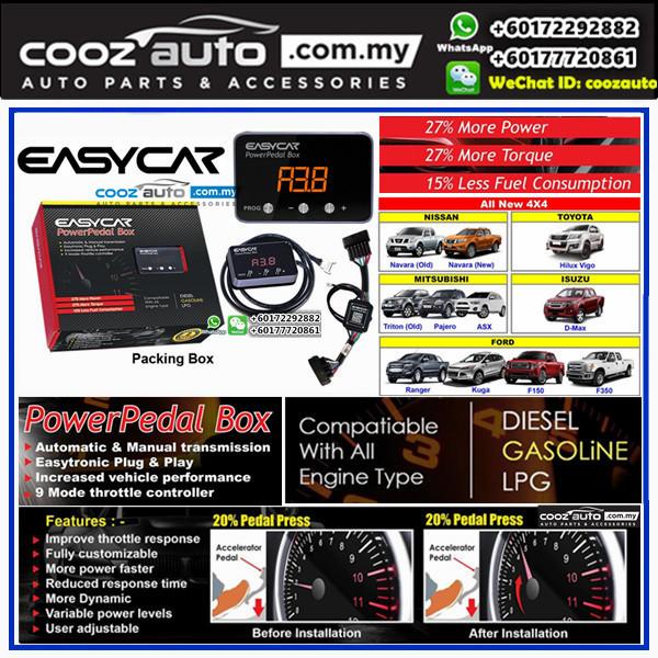 Ford Ranger T6 T7 2011-2017 EASYCAR Power Pedal Box Electronic Throttle Controller