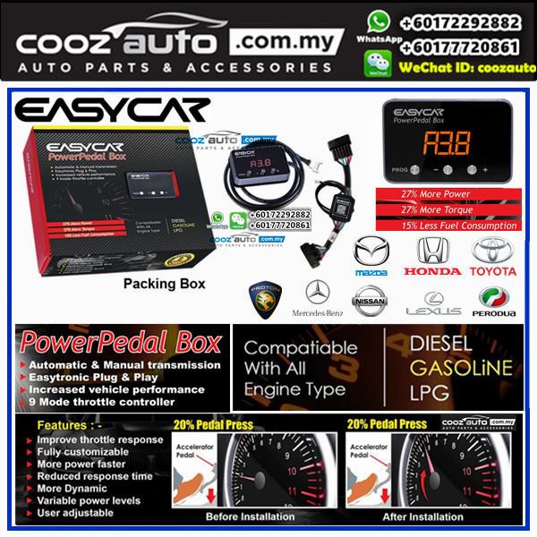 Mercedes Benz SLK 2000-2010 EASYCAR Power Pedal Box Electronic Throttle Controller