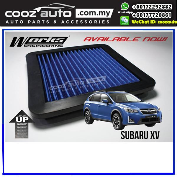 Subaru XV 2011 - 2016 Works Engineering Simota Washable Replacement Drop In Air Filter
