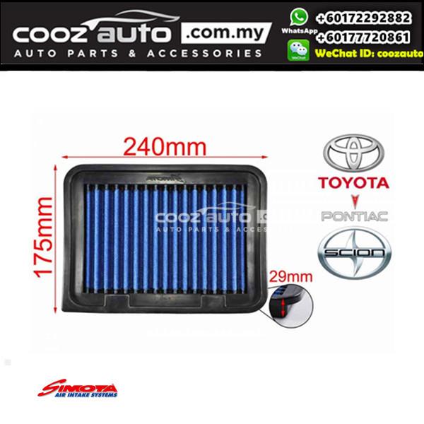 Toyota Corolla Altis E170 2014-2016 Works Engineering Simota Drop In Air Filter