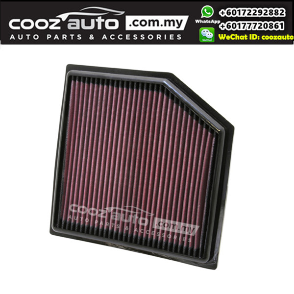 LEXUS GS460 4.6L V8 2008-2011 K&N High Performance Stock Replacement Washable Air Filters