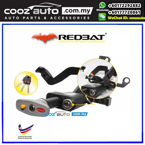 Proton Saga BLM 2008-2013  Redbat High Security Anti-Theft Double Brake Pedal Lock with Socket Immobilizer