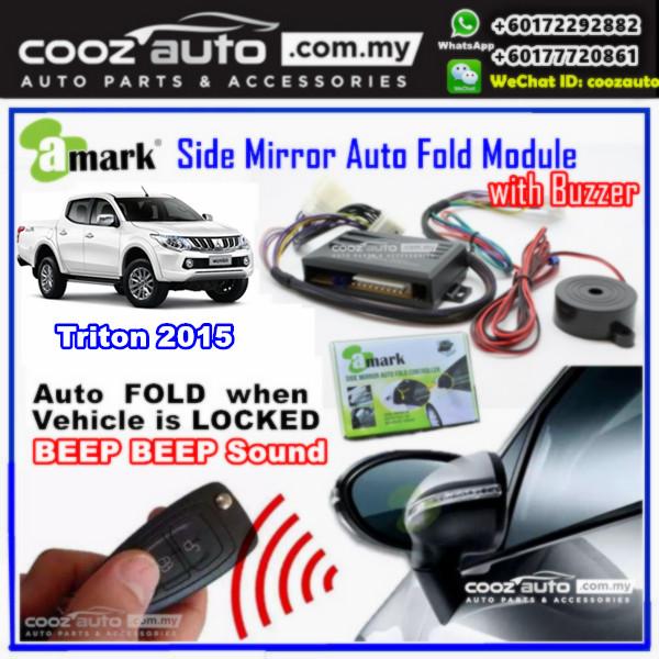 MITSUBISHI TRITON A-MARK Side Mirror Auto Fold Folding Controller Module With Alarm Buzzer