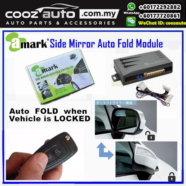 toyota vellfire 2008-2016 a-mark side mirror auto fold folding controller  module