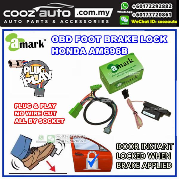 Honda Odyssey 2005-2010 A-Mark Plug &  Play OBD Foot Brake Lock