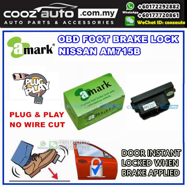 Nissan Almera A-Mark Plug &  Play OBD Foot Brake Lock