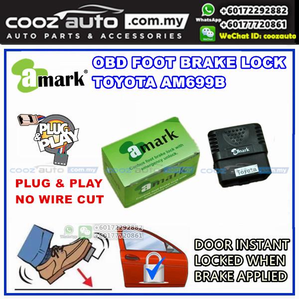 Toyota Vios 2007-2012 A-Mark Plug &  Play OBD Foot Brake Lock