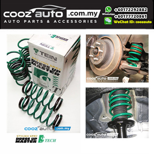 Nissan Latio Tein S-Tech Lowered Lowering Sport Spring