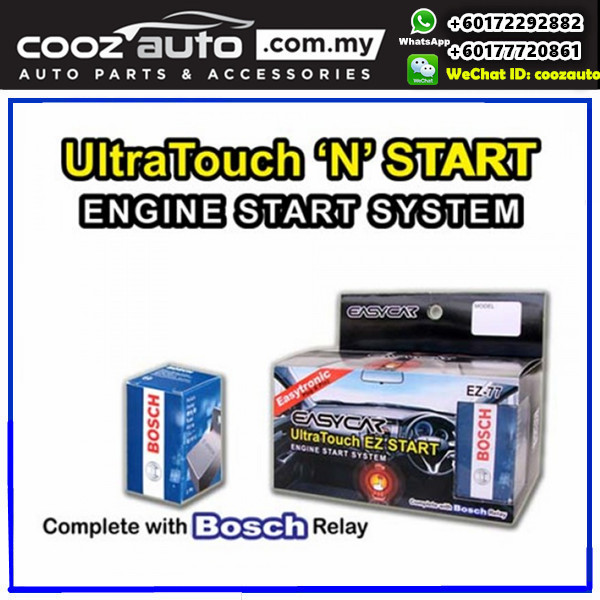 Mitsubishi Pajero sport 2009-2016 EasyCar ANTI-THEFT Ultra Touch n Start Invisible Hidden Switch Engine Start System