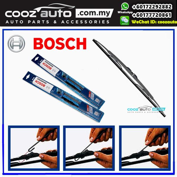 MITSUBISHI LANCER EVO 9th GEN FACLIFT 2004-2007 Bosch Advantage Windshield Wiper Blades