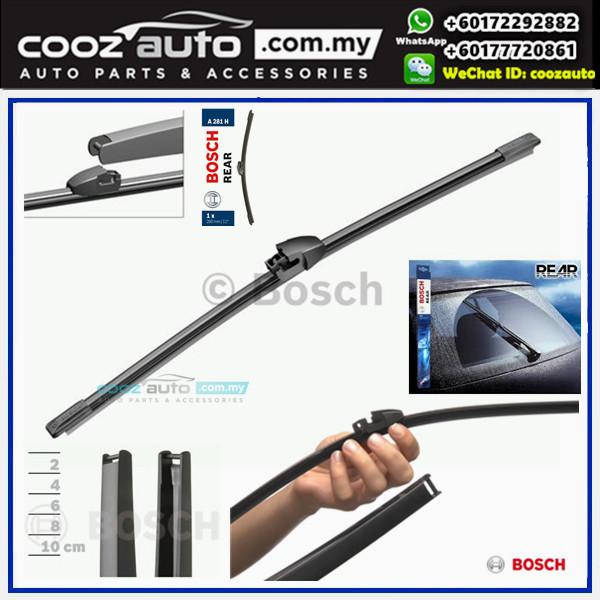 "Bosch A281H Specific Fit Flat Rear Screen WindScreen Wiper Blade 11"" (280mm)"