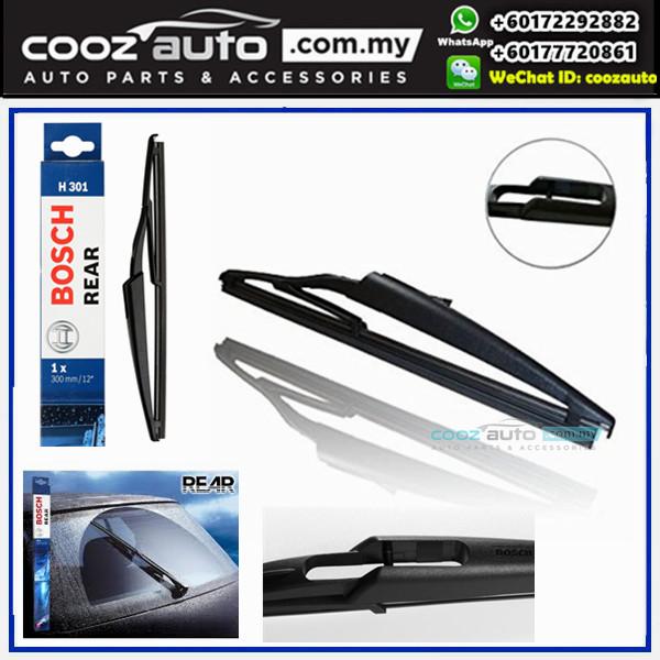 """Nissan Juke 2011-2016 Bosch Rear Windscreen Flat Wiper Blade 12"""" (300mm)"""