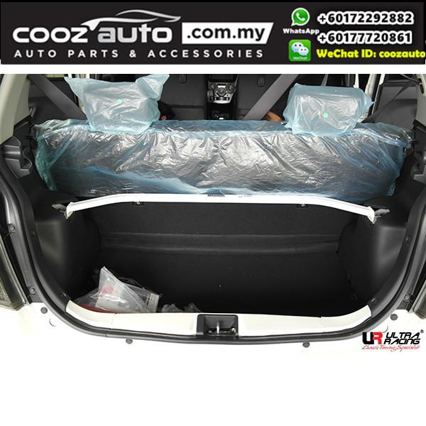 Perodua Axia 1.0 2WD Ultra Racing Rear Strut Bar / Rear Tower Bar (2 Points)
