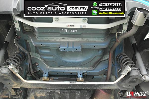 Perodua Myvi 1.3 Ultra Racing Rear Lower Bar / Rear Member Brace (3 Points)