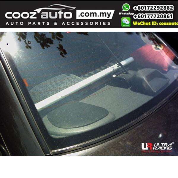 Proton Wira Sedan 1.3 / 1.5 Ultra Racing Rear Upper Brace / Ultra Racing Rear Upper Brace / C Pillar Bar (2 Points)