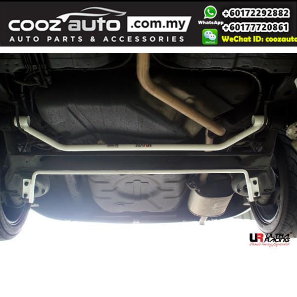 Proton Saga BLM FLX 1.6 Ultra Racing Rear Lower Bar / Ultra Racing Rear Member Brace (2 Points)