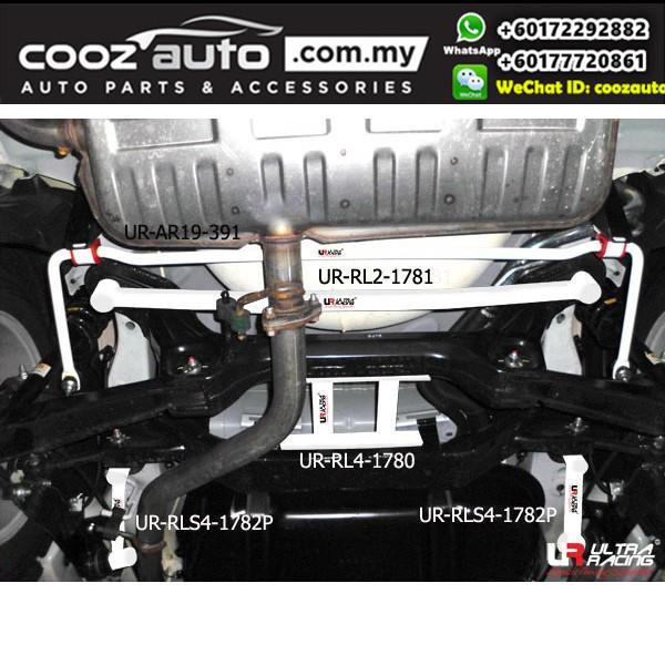 Proton Preve 1.6 Turbo (16mm) Ultra Racing Rear Anti-roll Bar / Ultra Racing Rear Sway Bar / Ultra Racing Rear Stabilizer Bar