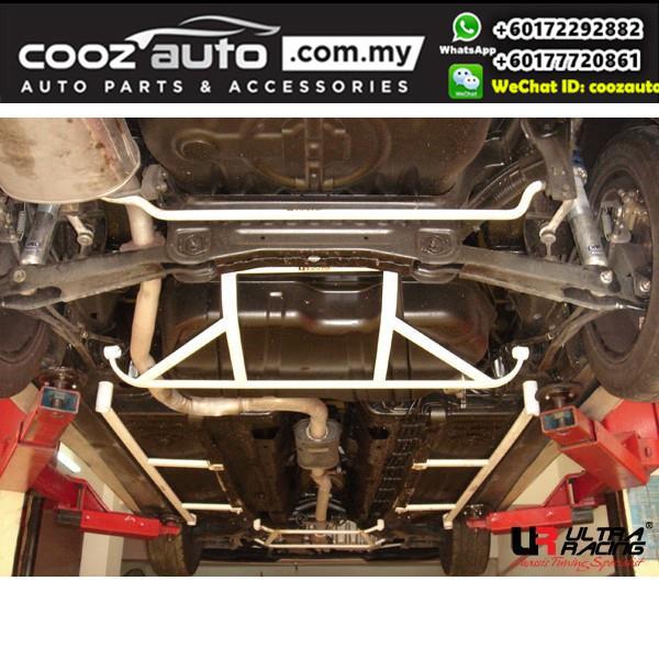 Proton Wira Sedan 1.6 / 1.8 (23mm) Ultra Racing Rear Anti-roll Bar / Ultra Racing Rear Sway Bar / Ultra Racing Rear Stabilizer Bar
