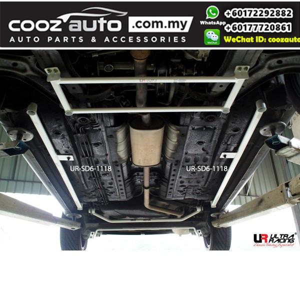 Proton Saga BT3 1.6 2016 Ultra Racing Side Lower Bar / Side Floor Bar (6 Points)