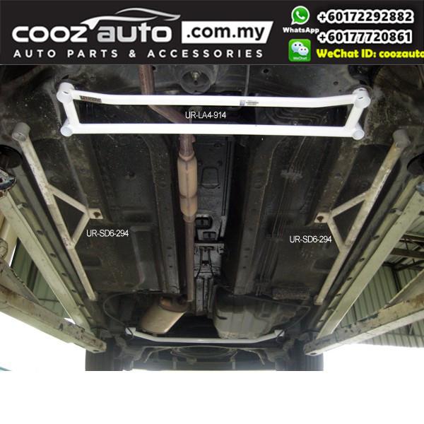 Perodua Myvi 1.5 Ultra Racing Side Lower Bar / Side Floor Bar (6 Points)