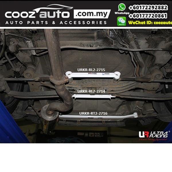 Kia Sportage KM 2.0D 2004 2WD Ultra Racing Rear Lower Bar / Ultra Racing Rear Member Brace (2 Points)