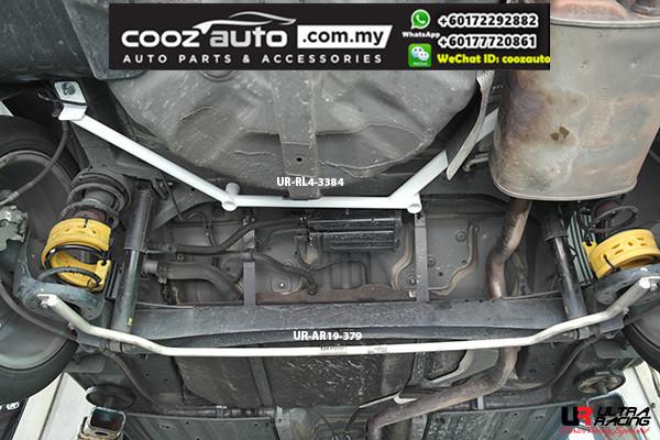 Kia Cerato K3 Sedan 1.6 GDI 2014 Ultra Racing Rear Lower Bar / Ultra Racing Rear Member Brace (4 Points)