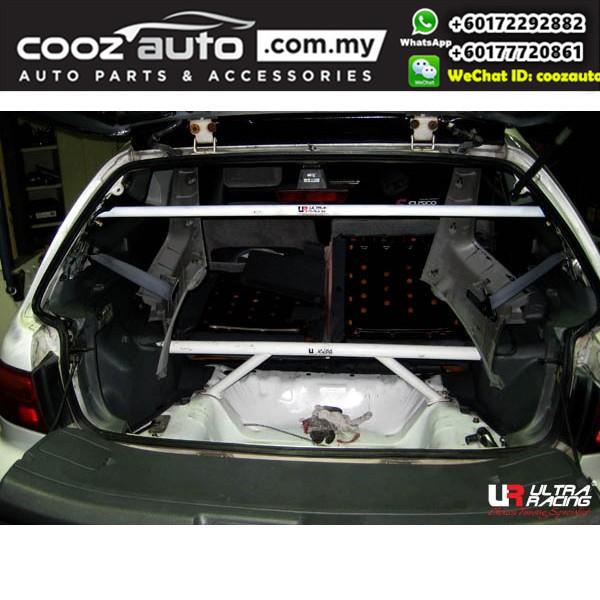 Honda Civic EK 4 door  Ultra Racing Rear Strut Bar / Rear Tower Bar (4 Points)