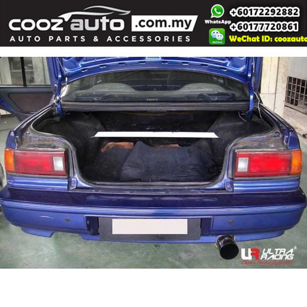 Honda CRX 2nd gen 1.6 1987 (2WD)  Ultra Racing Rear Strut Bar / Rear Tower Bar (2 Points)