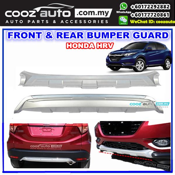 Honda HRV Front + Rear Bumper Protector Skid Plate Under Guard