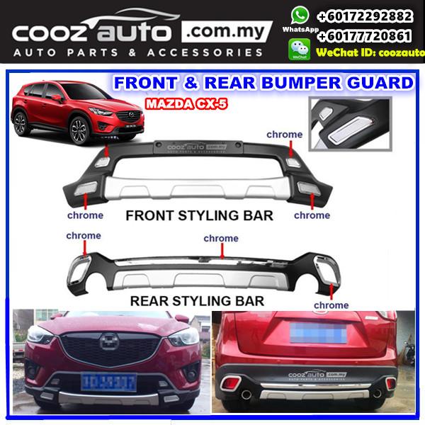 Mazda Cx 5 Cx5 2013 2016 Front Rear Bumper Protector
