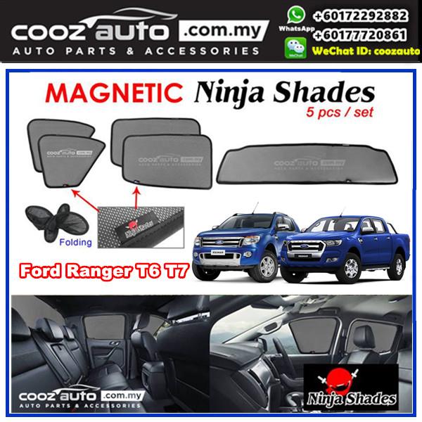 Ford Ranger T6 T7 Magnetic Ninja Sun Shade Sunshade