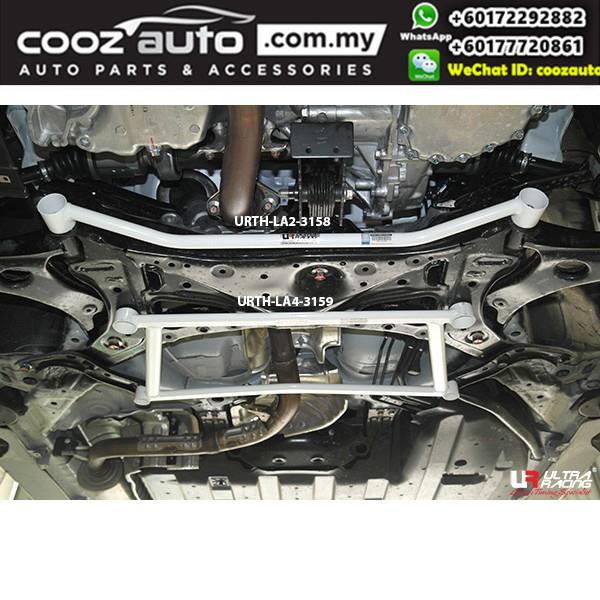 Honda HRV 2nd Gen 1.8 2015 2WD Ultra Racing Front Lower Bar / Front Member Brace (2 Points)