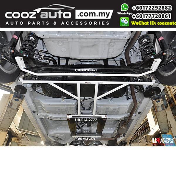 Honda Jazz GK 3rd Gen 1.5 2013 2WD (16mm) Ultra Racing Rear Anti-Roll Bar / Rear Sway Bar / Rear Stabilizer Bar