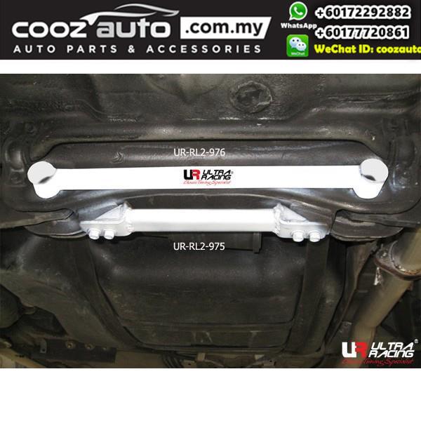 Honda Integra DC5 K24A 2.4 2001 Ultra Racing Rear Lower Bar / Rear Member Brace (2 Points)
