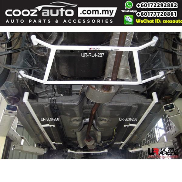Honda Accord CM5 V6 3.0 2003 2WD Ultra Racing Rear Lower Bar / Rear Member Brace (4 Points)