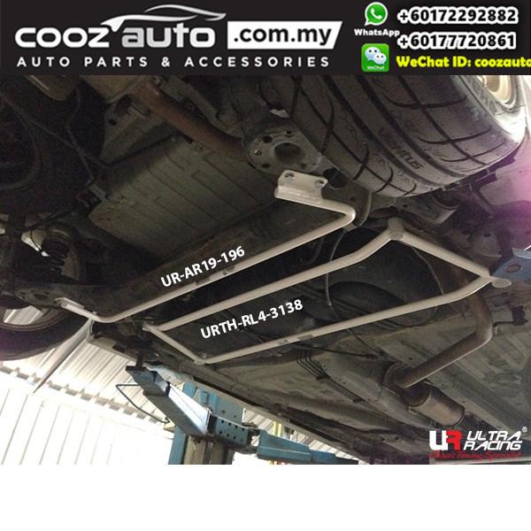 Honda MOBILIO (DD4) 1.5 2014 Ultra Racing Rear Lower Bar / Rear Member Brace (4 Points)