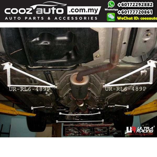 Honda Odyssey RB3 2009-2012 Ultra Racing Rear Lower Bar / Rear Member Brace (6 Points)
