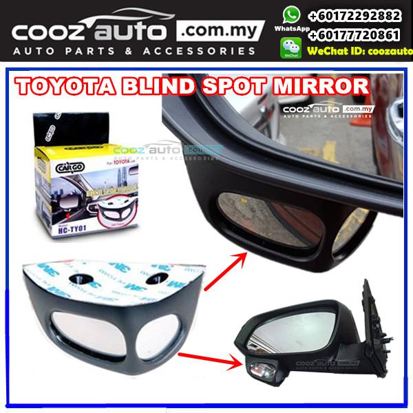 TOYOTA HARRIER 2015-2017 Parking Blind Spot Detection Add On Passenger Side Mirror