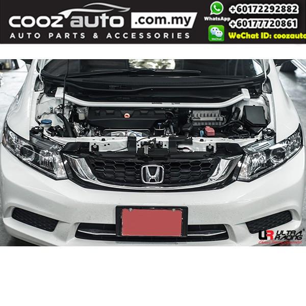 Honda Civic FB 2.0 2012 Ultra Racing Front Strut Bar / Front Tower Bar (2 Points)