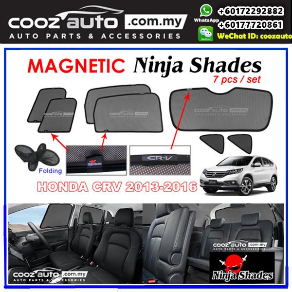 Honda CRV CR-V 2013-2016 Magnetic Ninja Sun Shade Sunshade